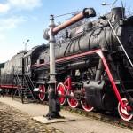 Музей истории железной дороги Латвии в Риге