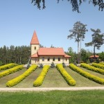 Гора царя Иисуса в Аглоне или парк отдыха для всей семьи