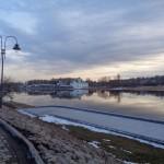 Псков. Город уплывающих на льдинах чаек