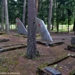 Военное кладбище в Эмари или почему в Эстонии гибли советские лётчики