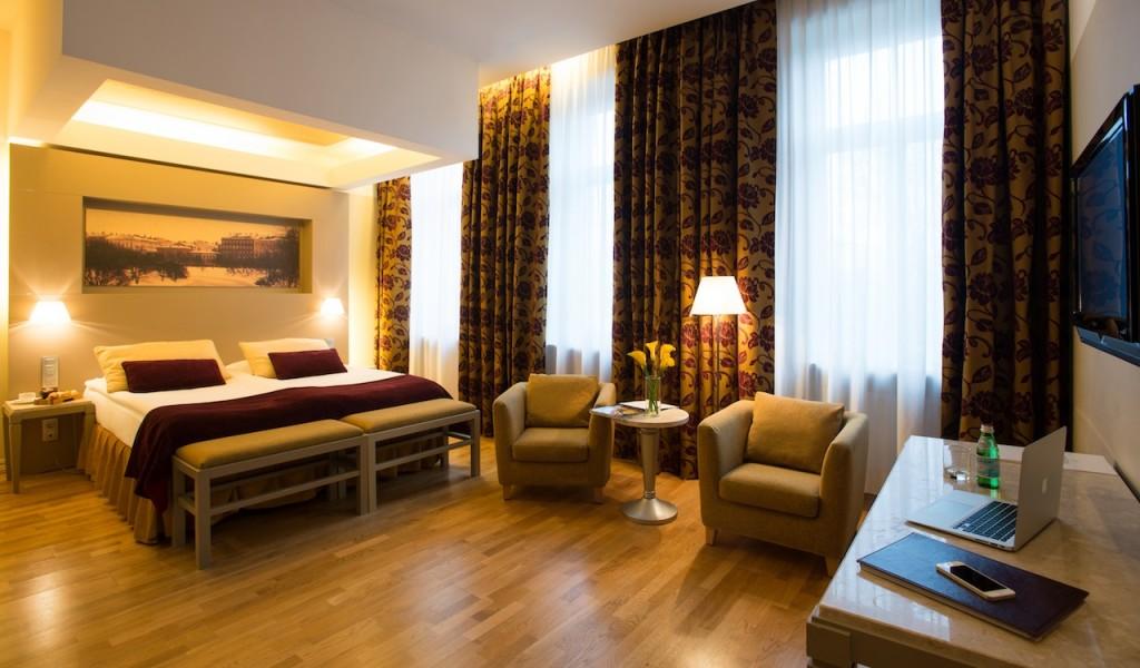 Superior Room Opera Hotel in Riga