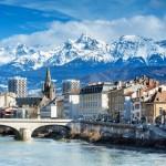 Во Францию на лыжах! Из Вильнюсa в Гренобль за 19 евро!