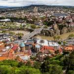 Канатная дорога Тбилиси. Город на ладони.