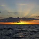 Закаты рижского побережья