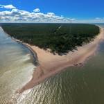 Латвийская Колка: живописный мыс разделяющий Балтийское море