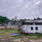 Заброшенные литовские аттракционы в Электренай