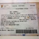 Как получить визу в ЮАР гражданину Литвы, Латвии или Эстонии