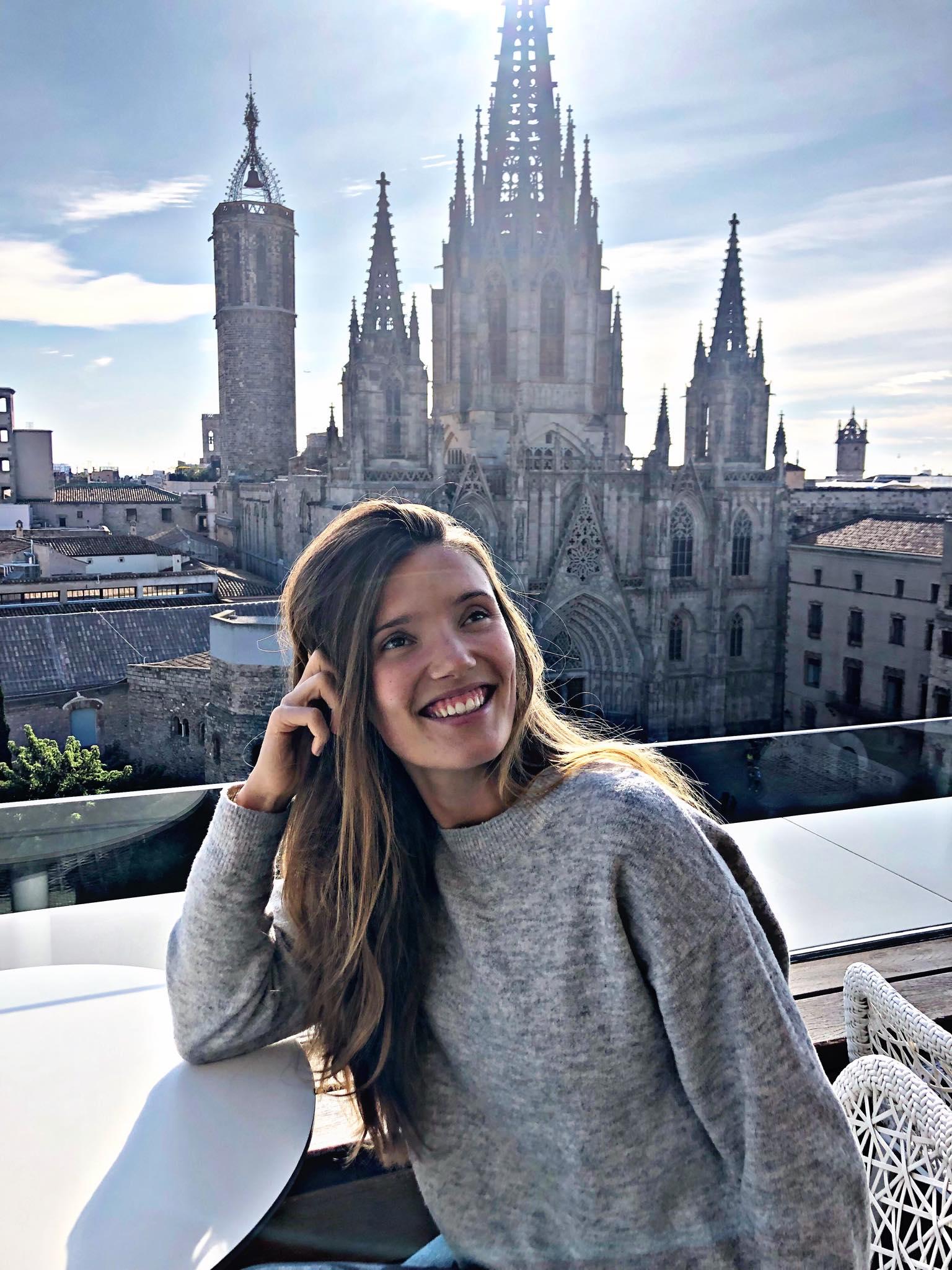 julychoo in Barcelona