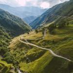 Gruzija no putnu lidojuma. Maršruti un skaistas vietas Gruzijā no Kutaisi.