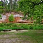 Gājēju takas un dabas objekti Latvijā.